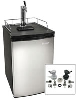 Edgestar Stainless Steel Homebrew Kegerator - KC2000SSHMBREW