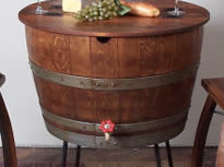 Wine or Whisky barrel