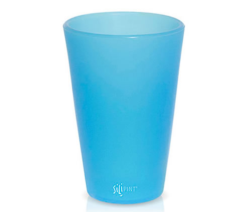 A Pint Glass Made Of Squishy Silicone
