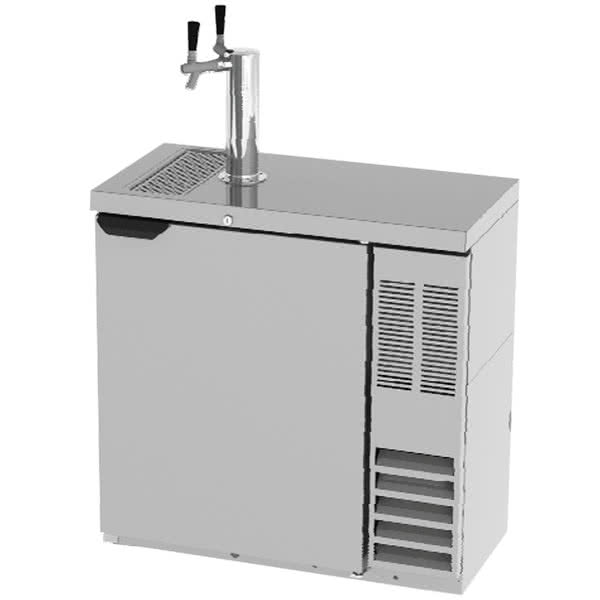 """Kitchen Island Kegerator hello 18"""" wide kegerator that holds two kegs and gets out of the"""