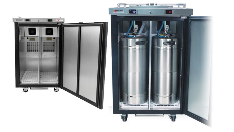Dual Zone Kegerators Are Here! - Kegerator Blog