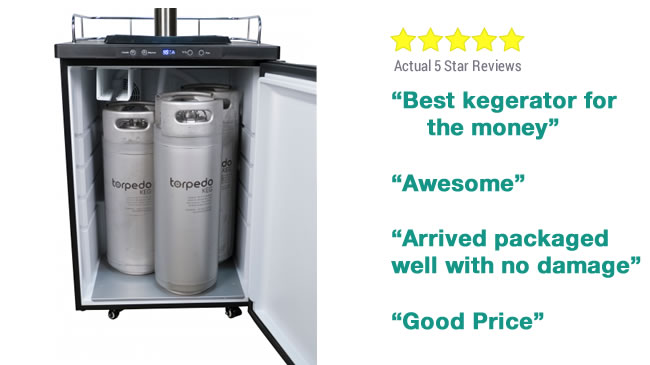 Best Kegerator For Foam Control