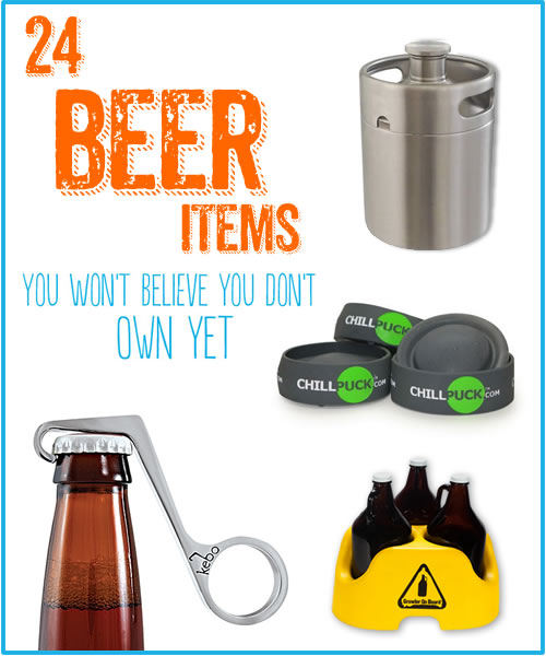 24 beer items you won 39 t believe you don 39 t own yet. Black Bedroom Furniture Sets. Home Design Ideas