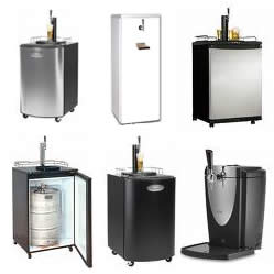 Kegerator selections increase giving home bars more choices for Home bar with kegerator space