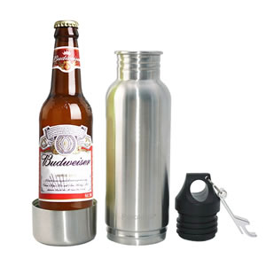 Stainless Steel Beer Bottle Coozie