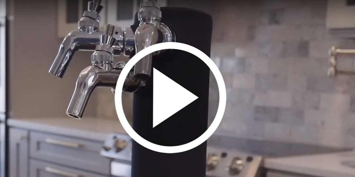 Insulate a Kegerator Draft Beer Tower