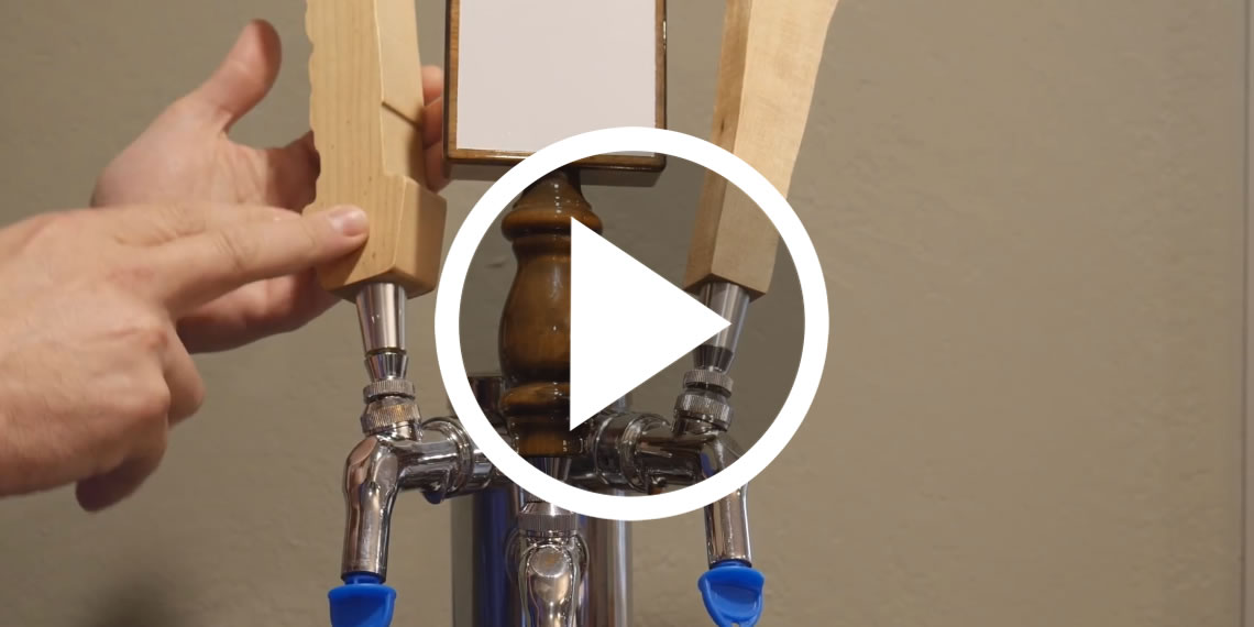 How to Align a Kegerator Tap Handle